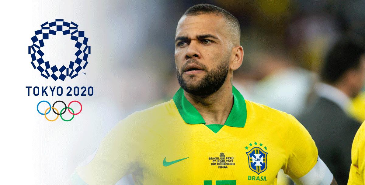 Daniel Alves will play for the Brazilian 2021 Olympic team