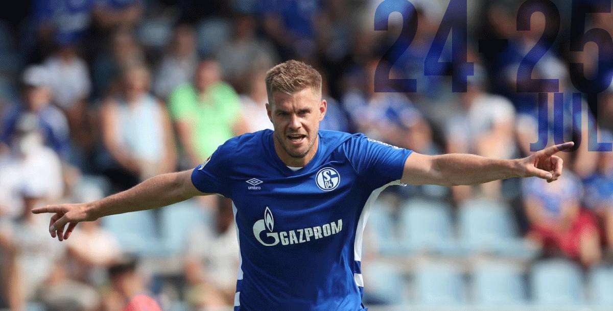 Schalke 04 Simon Terodde will face former team Hamburger SV