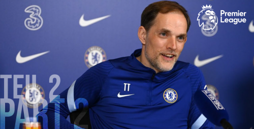 Thomas Tuchel during interview for the English Premier League 20/21