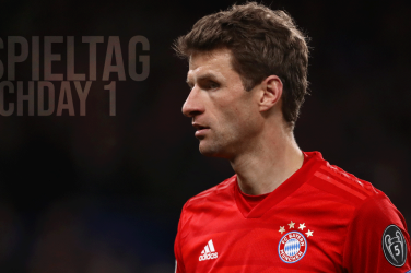 Thomas Müller playing for Bayern München