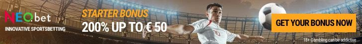 NEO.bet sportsbook welcome offer