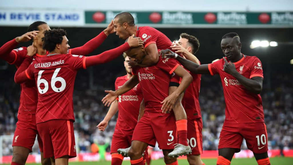 Liverpool is the favourite to win the Champion League 21/22 Group B