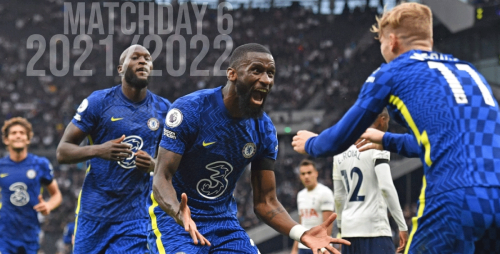 Premier League 21/22 Matchday 6 Odds & Predictions